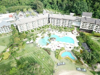 Rasa Ria resort - pool