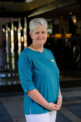 Fiona Hagan - GM of Shangri-La's Rasa Ria Resort and Spa, Sabah