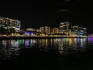 Kota Kinabalu shorefront as seen from North Borneo Cruises dinner cruise