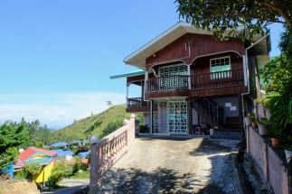 One of the local homes that make-up Ranau Walai Tokou Homestay
