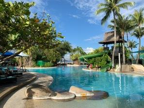 Pool at Rasa Ria Resort, Sabah