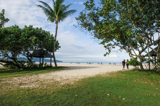 Rasa Ria Resort - beachfront