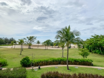 Beach at Shangri-La's Rasa Ria Resort & Spa, Dalit Bay Golf & Country Club, Sabah