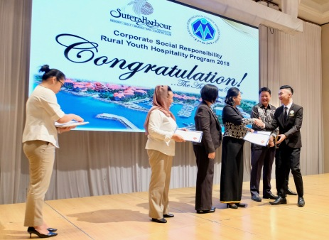 Graduation ceremony - Rural Youth Hospitality Program 2018