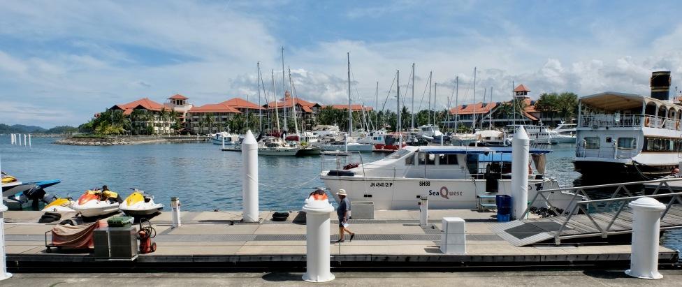 Marina at Sutera Harbour Resort