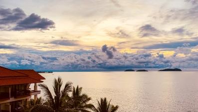 View from Magellan Sutera Kota Kinabalu, Sabah
