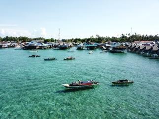 Mabul Island drone view