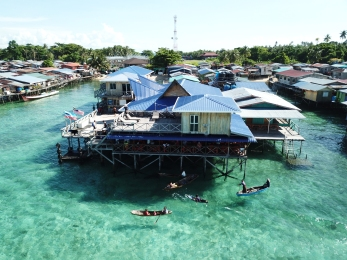 Drone view - Mabul Island