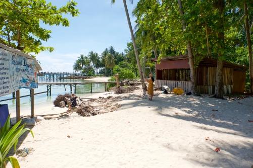 Beach - Mabul Island