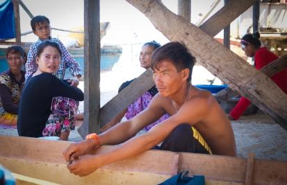 Bajau Laut Villagers - Mabul Island
