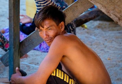Bajau Laut Villager - Mabul Island