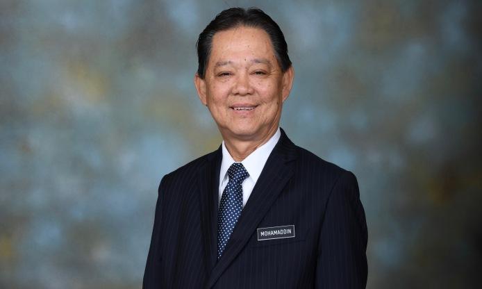 Mohamaddin Bin Haji Ketapi, Minister of Tourism, Arts and Culture for Malaysia