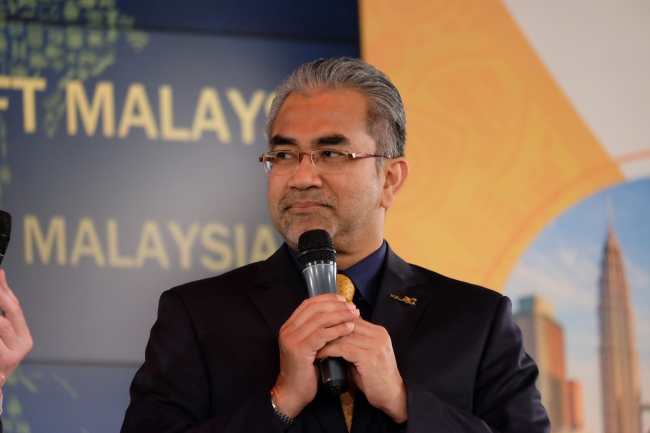 Director General of Tourism Malaysia, Datuk Musa HJ. Yusof